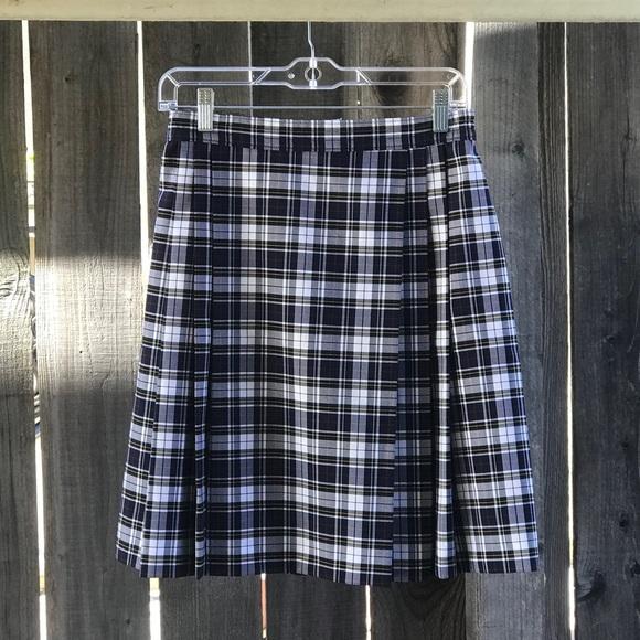 814c559e4f Dennis Skirts | Uniform Plaid Skirt Size Jr 5 Child 12 | Poshmark